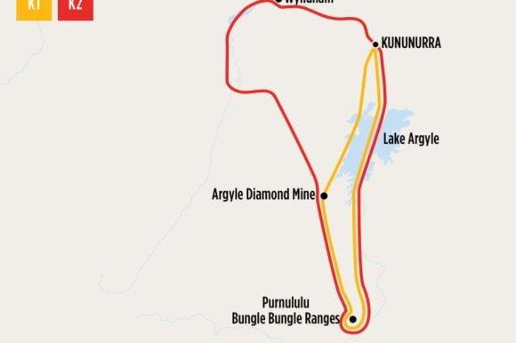 Bungles Map