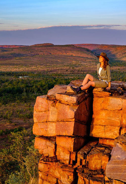 Kimberley Experiences Link including Lake Argyle and the Argyle Diamond Mine